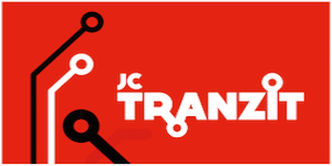 Pet en sticker van JC Tranzit