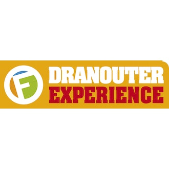 Logo Dranouter Experience met het [F] Experience Museum