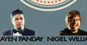 Gratis naar Comedy Dubbel | Nigel Williams & Rayen Panday 23/5/19