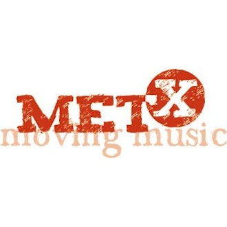 Logo MET-X moving music