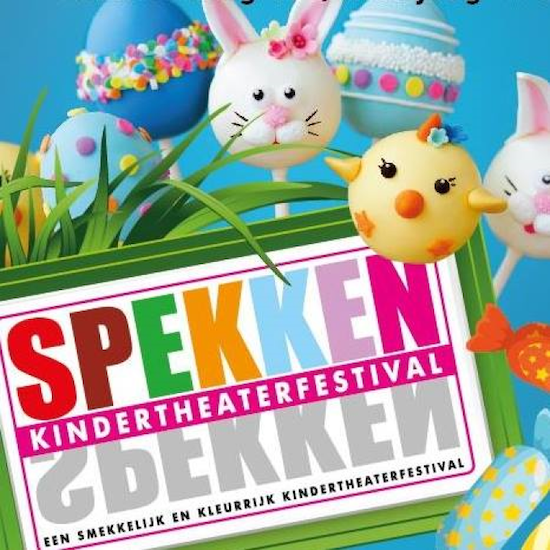 Gratis ticket voor Kindertheaterfestival Spekken (15/04 t.e.m. 19/04)