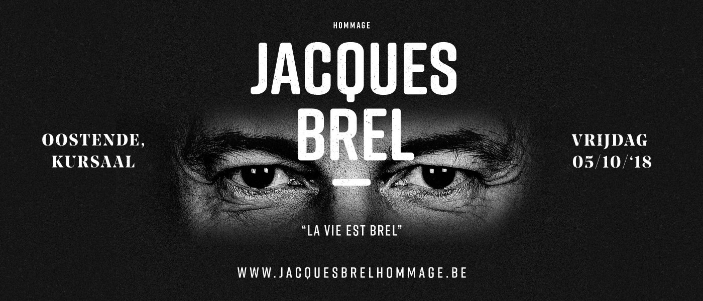 foto: 40% korting Jacques Brel Hommage